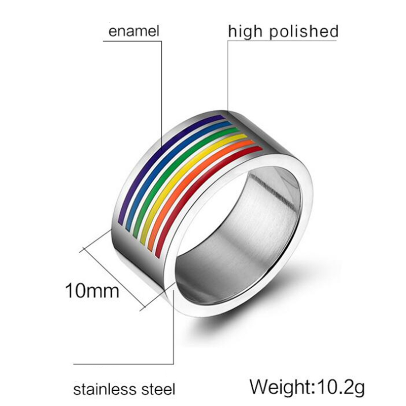 Rainbow Ring Gay (9)