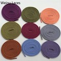 (30Pairs/Lot)Weiou Multicolour Shoelace Regular Two Toned Rope Laces Casusal Sneakers Walking Bootlace Bright Colors Accessories