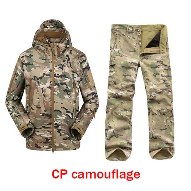 2016 TAD Tactical Outdoors Hoodie tatico Jacket Set Men Waterproof Sport Camo Hunting Clothing Set Pants