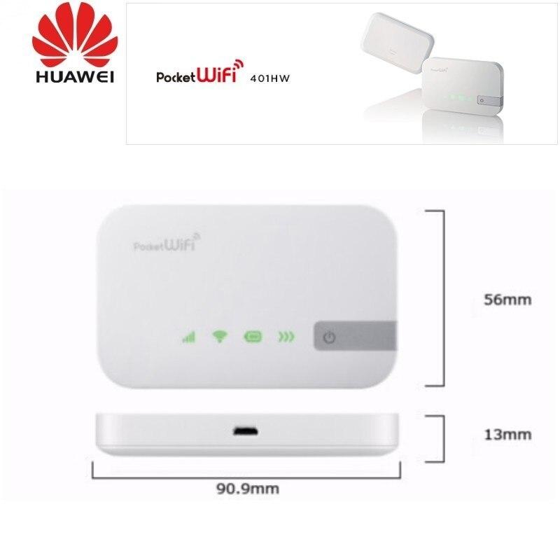 Lot de 100 pièces 112.5 Mbps D'origine Huawei 401HW 4G LTE Routeur WiFi de Poche