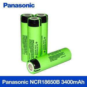 Image 2 - 100% Nieuwe Originele NCR18650B 3.7 v 3400 mah 18650 Lithium Ion Oplaadbare Batterij Voor Panasonic Zaklamp Batterijen