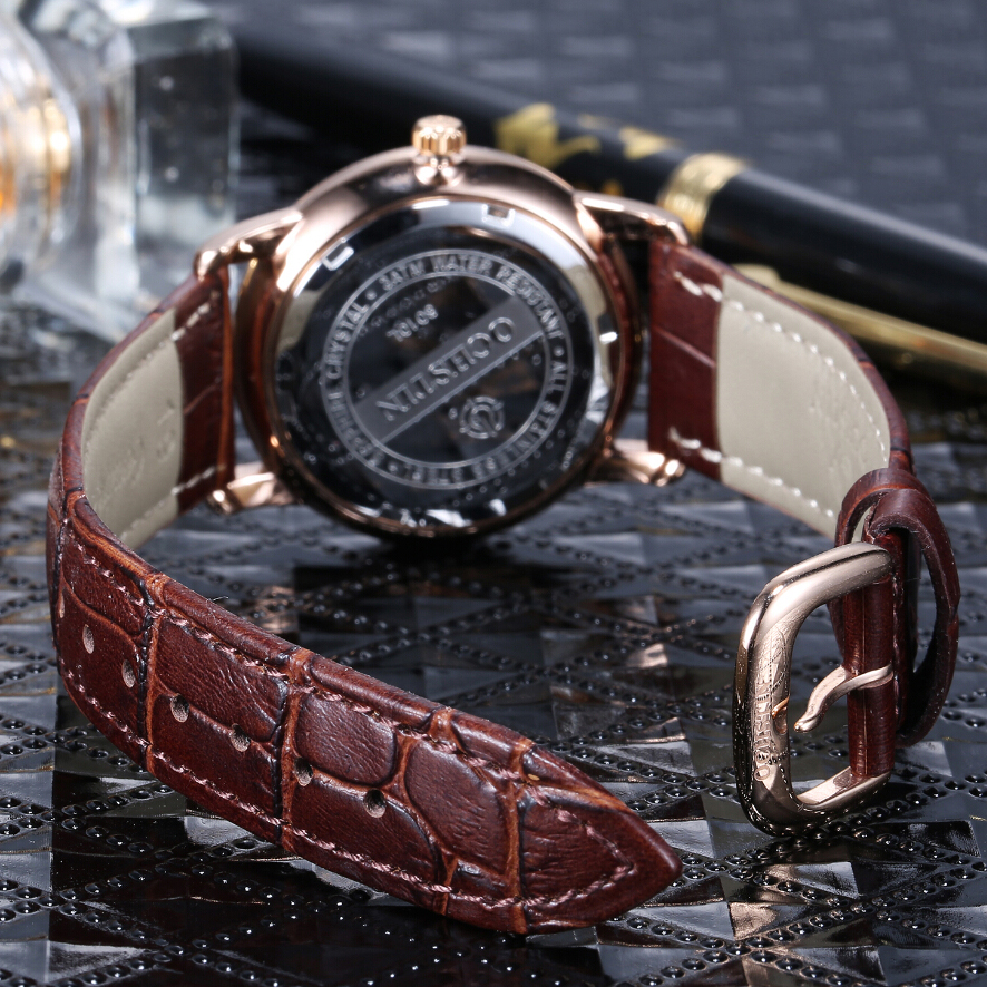 Image 4 - OCHSTIN New Fashion Women Watches Luxury Diamond Leather Calendar Waterproof Quartz Watch Relojes Mujer 2019 Marca De Lujo Clock-in Women's Watches from Watches