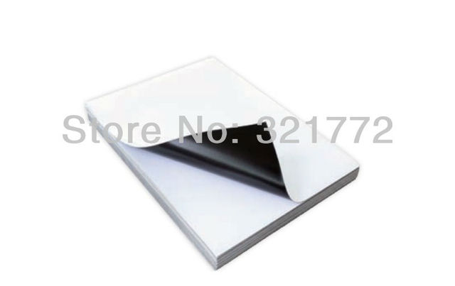 A4 Ink Jet Printable Flexible Magnet Glossy Photo Paper Sheet