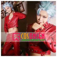 COSPLAYONSEN The Seven Deadly Sins Ban Cosplay Fox's Sin of Greed Costume