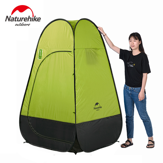 2017 Naturehike Quick Automatic Opening Washing Toilet Tent Fishing Restroom Portable Outdoor Tent NH17Z002-P naturehike camping tent quick automatic opening washing toilet tent fishing restroom portable outdoor tent mobile bathroom