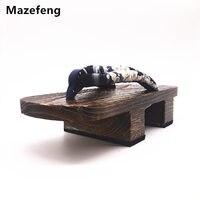 الصيف زحافات الرجال geta mazefeng اليابانية قباقيب قباقيب كعب 2017 منصة الأحذية الأحذية تأثيري حلي الرجال geta الرجال النعال