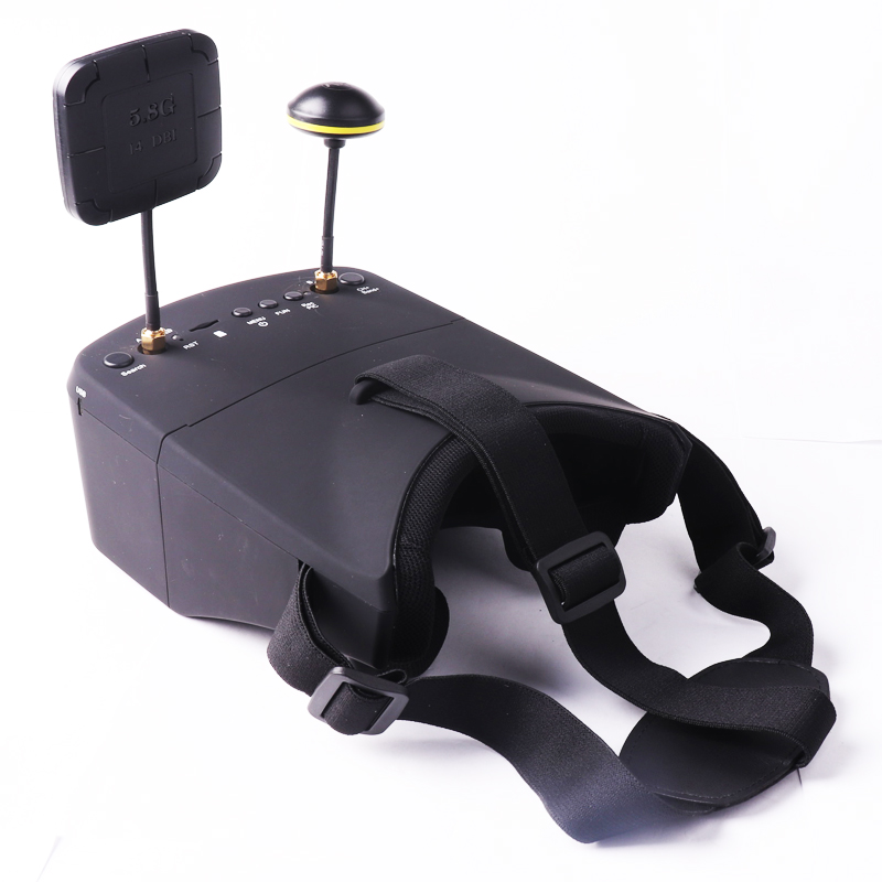 LS-800D VR FPV Goggles 5.8G 40CH 5 Inch 854*480 Video Headset HD DVR Diversity 2000mAh Battery For RC Model Scale Airplane GameLS-800D VR FPV Goggles 5.8G 40CH 5 Inch 854*480 Video Headset HD DVR Diversity 2000mAh Battery For RC Model Scale Airplane Game
