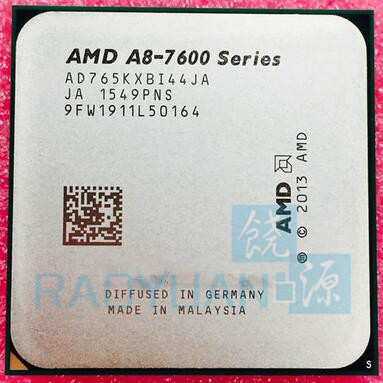 AMD A8 Series A8 7600 A8 7650K A8 7650 A8 7650 3.3GHz Quad Core  CPU Processor  AD765KXBI44JA Socket FM2+-in CPUs from Computer & Office