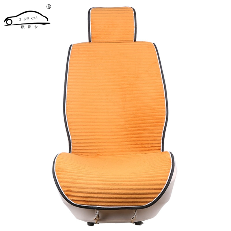 Winter Car Seat Cushion Universal Striped shape Car font b Interior b font Seat Covers Non