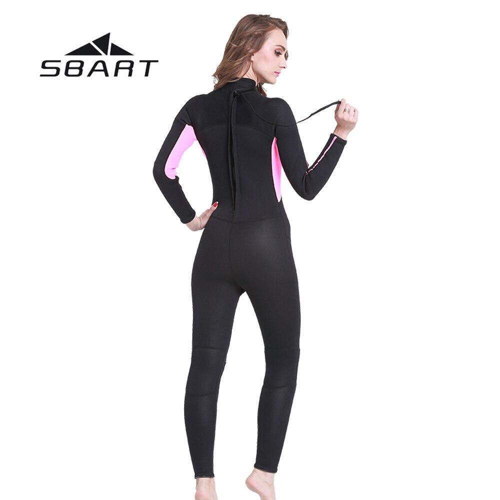 SBART 3mm Neopren dalğıc kostyumu, tam bədəni olan - İdman geyimləri və aksesuarları - Fotoqrafiya 3