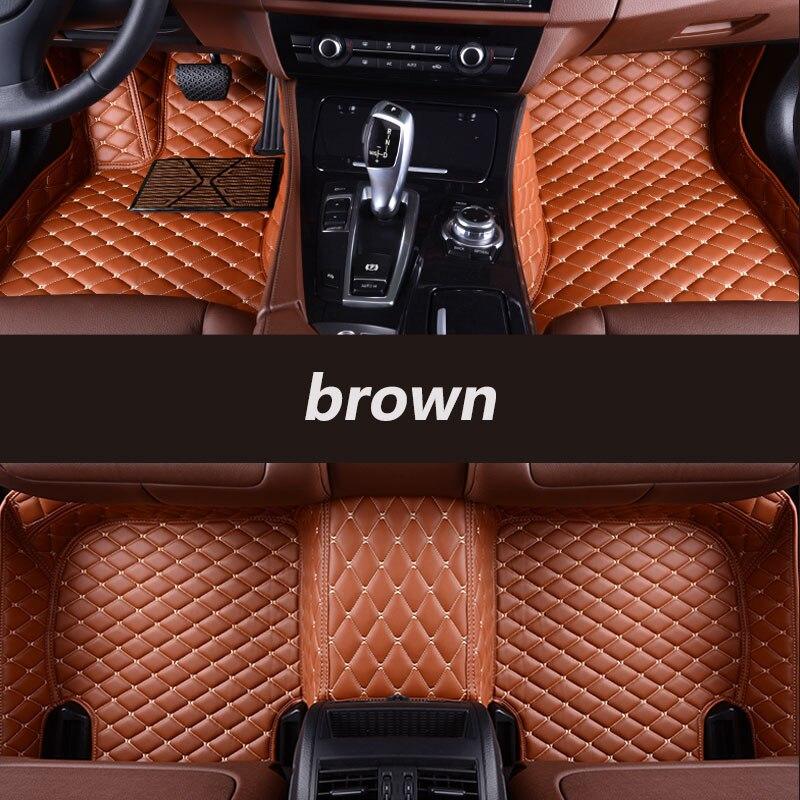 Kalaisike Personnalisé tapis de sol de voiture pour Mercedes Benz tous les modèles E C GLA GLE GL CLA ML GLK CLS S R Un B CLK SLK G GLS GLC vito viano - 5