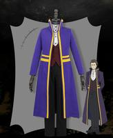 Anime Angels of Death Abraham Gray Gorgeous Cosplay Costume Halloween Carnival Outfit
