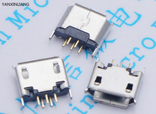 10pcs 5pin plug-in seat