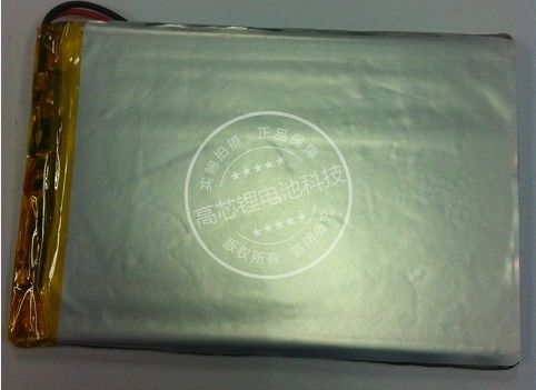 New Hot 3.7V polymer lithium batteries 046090 <font><b>406090</b></font> GPS consoles tablet PCs 2200MAH Rechargeable Li-ion Cell Large Batteries image
