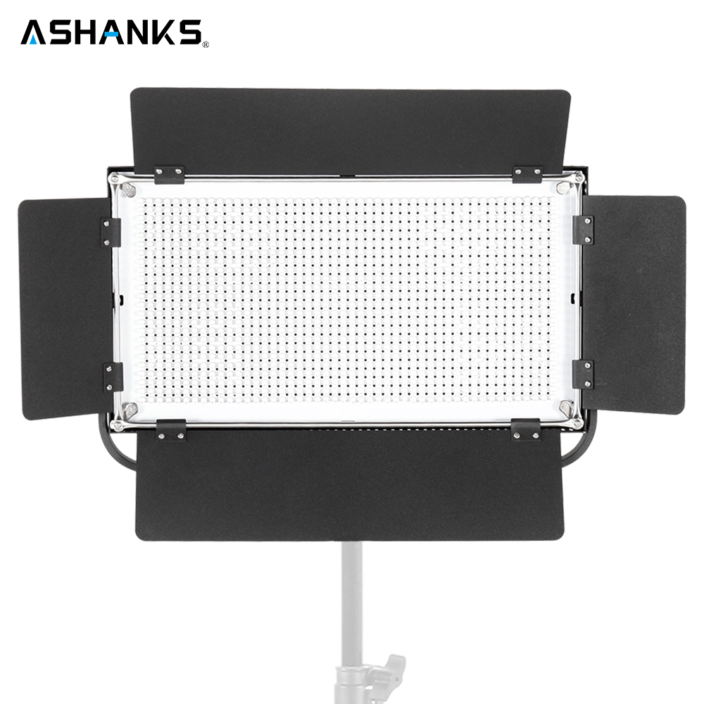 ASHANKS 75W LED Pad Panel Light Dimmable Continuous Light Bulbs for Photography Camera Film Video Photo Studio