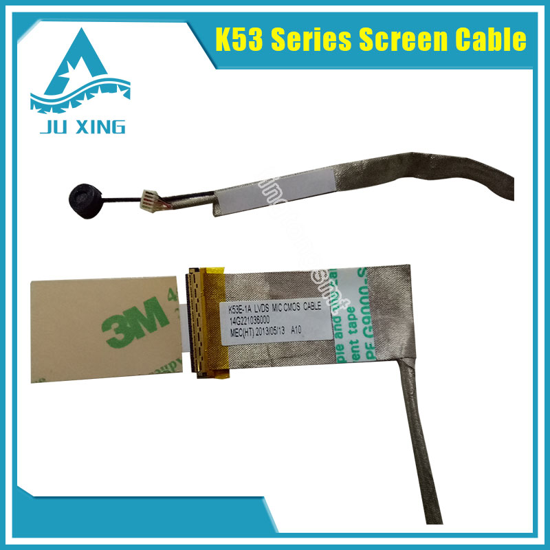 цены Original for ASUS K53 K53SC K53SD K53SJ K53SK K53SM K53SV LVDS LCD LED SCREEN VIDEO FLEX CABLE free shipping