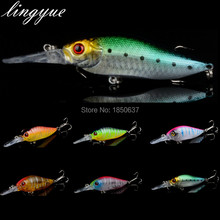 New Sale 1pcs good quality Minnow Fishing Lures 11cm/13.1g Plastic Fishing Baits 6 colors Available Fishing Tackle