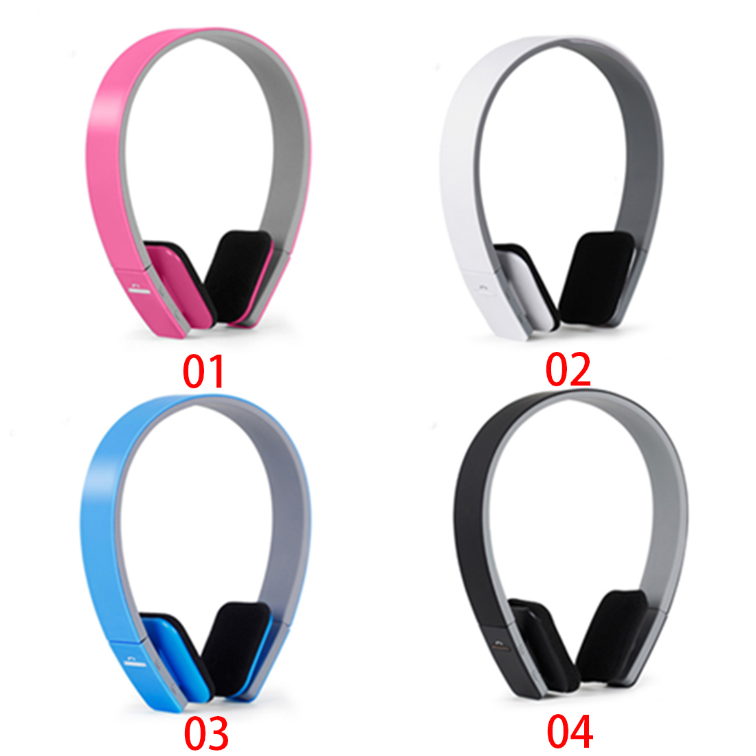 Marsnaska Noise Reduction Wireless Bluetooth Stereo Headphones Earphone Headset With MIC papr reduction