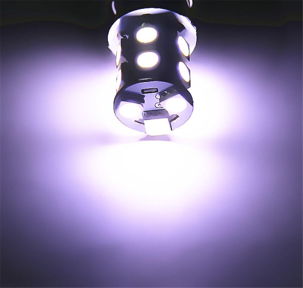 7443 7440 13 SMD 5050 Blanco puro Amarillo ámbar ROJO LED Bombilla - Luces del coche - foto 5