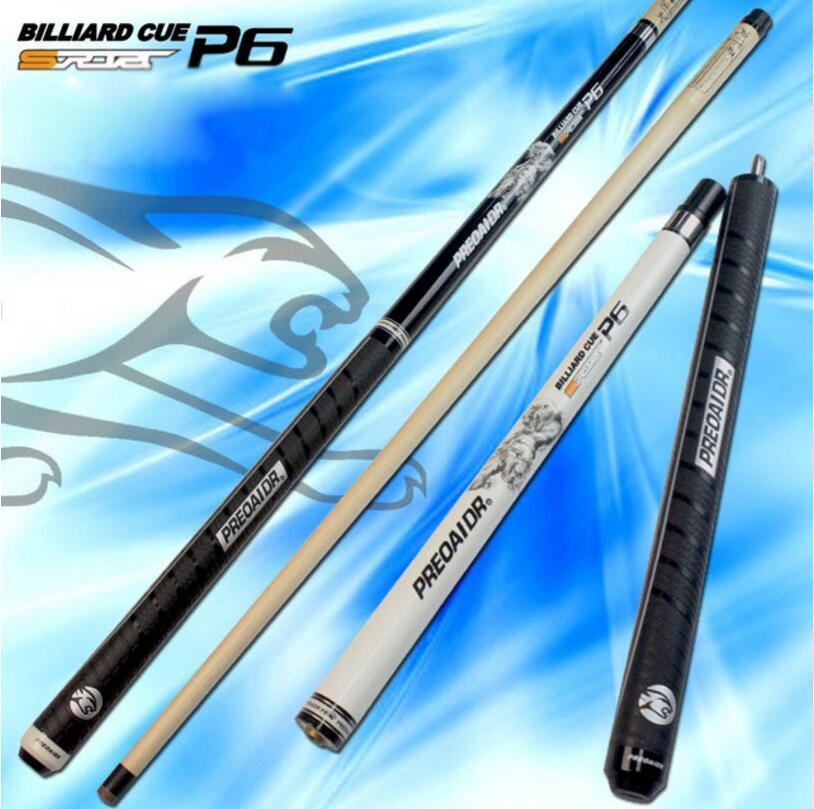New Arrival PREOAIDR 3142 Brand P6 Punch Jump Cues 58 inch Billiard Stick Kit 13mm Tips