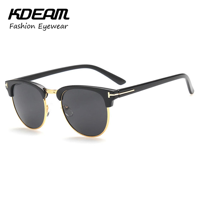 2016 NEW Fashion Brand Designer Sunglasses for men and women sunglass glasses Myopia Frame Club eyeglasses With case KD8015