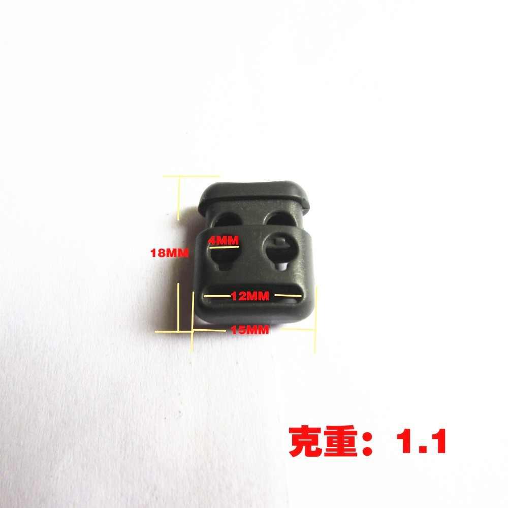 4 мм двойное отверстие пластиковый шнур замки конец пружинный стоп тумблеры