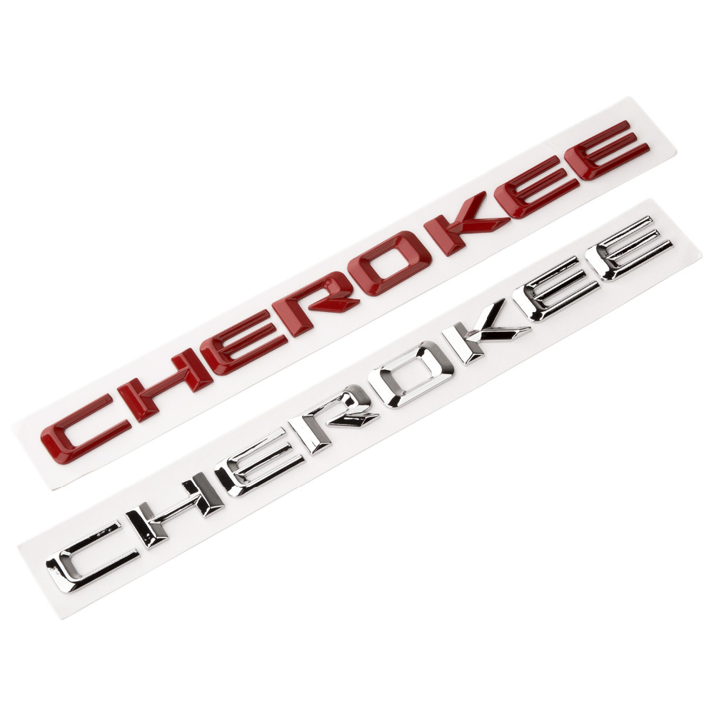 1x OEM Chrome GRAND ChEROKEE Emblems Nameplate LEtter Altitude Jeep Badges