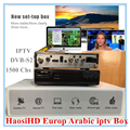 Arabic Iptv Receiver with Iptv europe 1 year account free watch 2000 arabic portugal UK French Germany africa somali USA channel