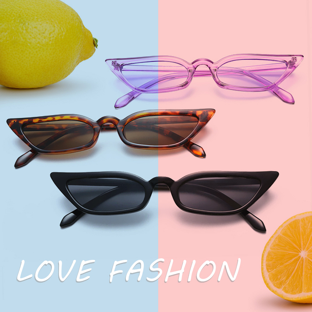YOSOLO Motorcycle Glasses Riding Driving Eyewear Protective Gears Retro Small Frame Goggles Vintage Cat Eye Sunglasses UV400 1