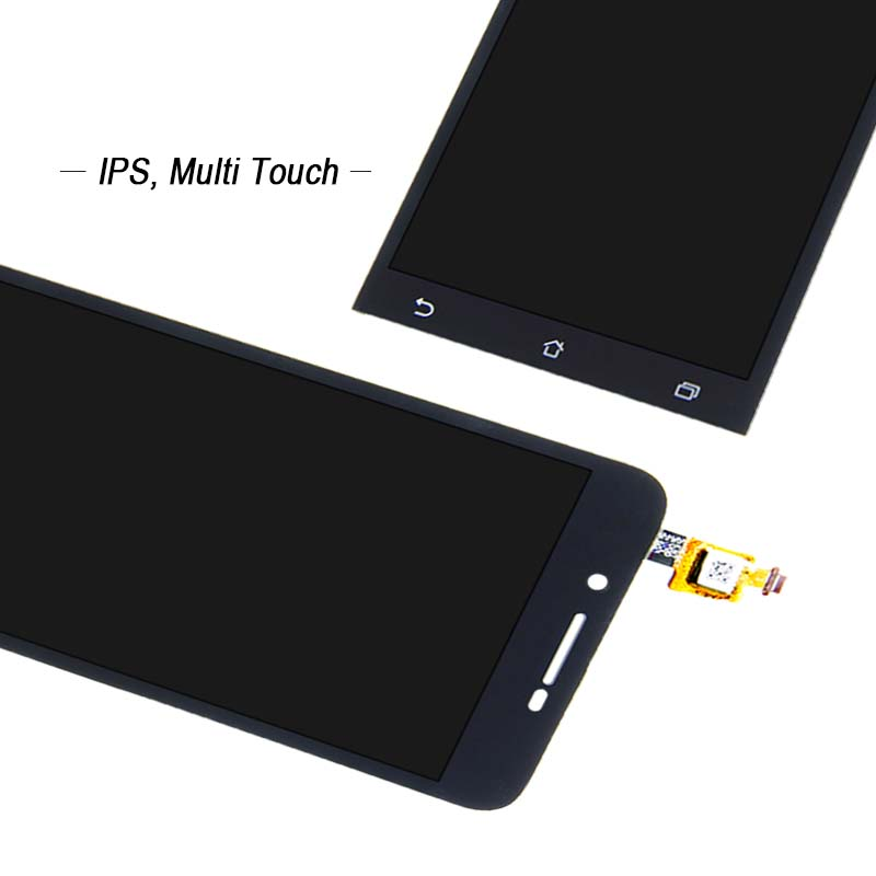 Free Shipping For Asus Zenfone Go ZC500TG Digitizer Touch Screen Lcd Display Assembly Repair Part