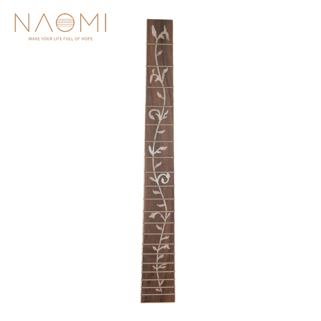 The Best Naomi 41 20 Fret Guitar Fretboard Acoustic Folk Guitar Rosewood Fretboard Fingerboard Guitar Parts Accessories New Profit Small Sports & Entertainment