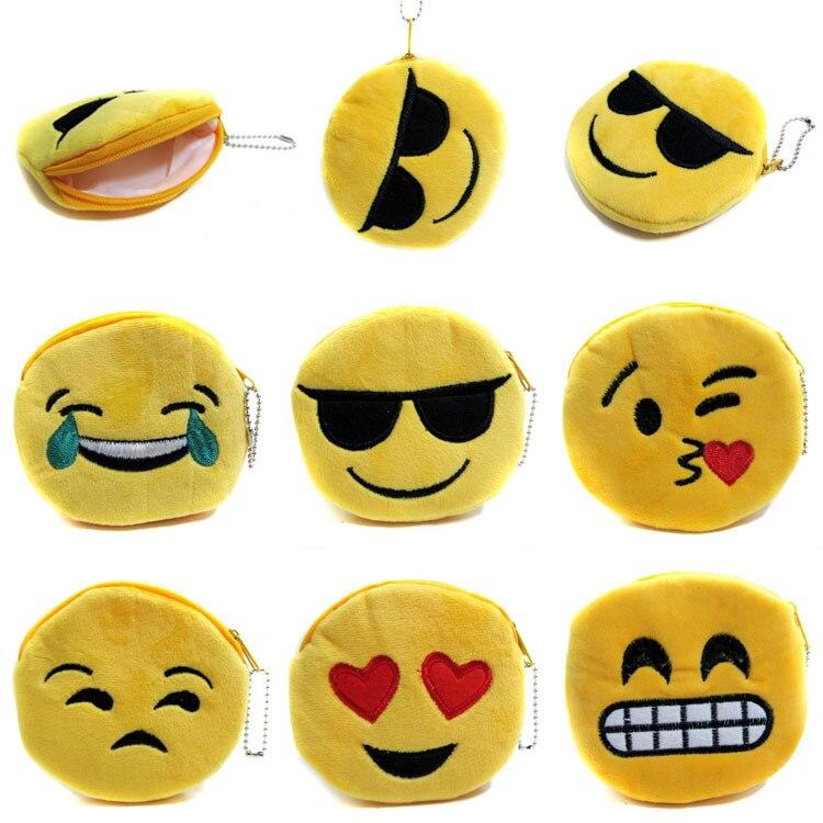 12 шт. детей emoji кошелек детский день рождения favor для девочек Boy Baby Shower подарочные сувениры