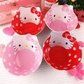 6 М + Hello Kitty Детей Меламином Миску Безопасная Посуда для Детей Детские Блюда Плиты