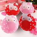 6M+ Hello Kitty Kids Melamine Bowl Safe Tableware for Children Baby Dishes Plate