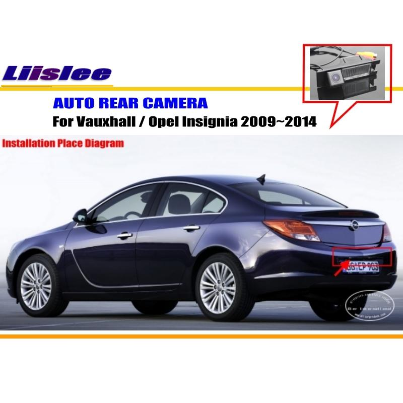 For Opel Insignia 2009~2014 Reverse Back Up Camera / Parking Camera /  NTST PAL / License Plate Light Camera