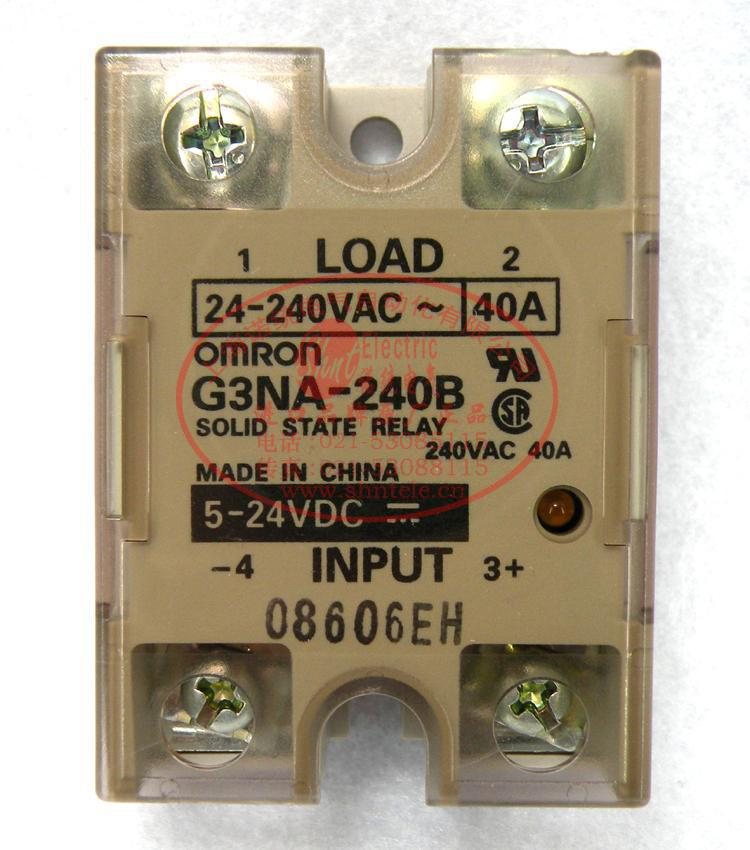 Free Shipping 1pcs/lot Original Solid State Relays G3NA-240B