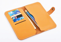 Strap Hand Card Wallet Genuine Cow Leather Mobile Phone Case Pouch For Nokia 2 For Nokia