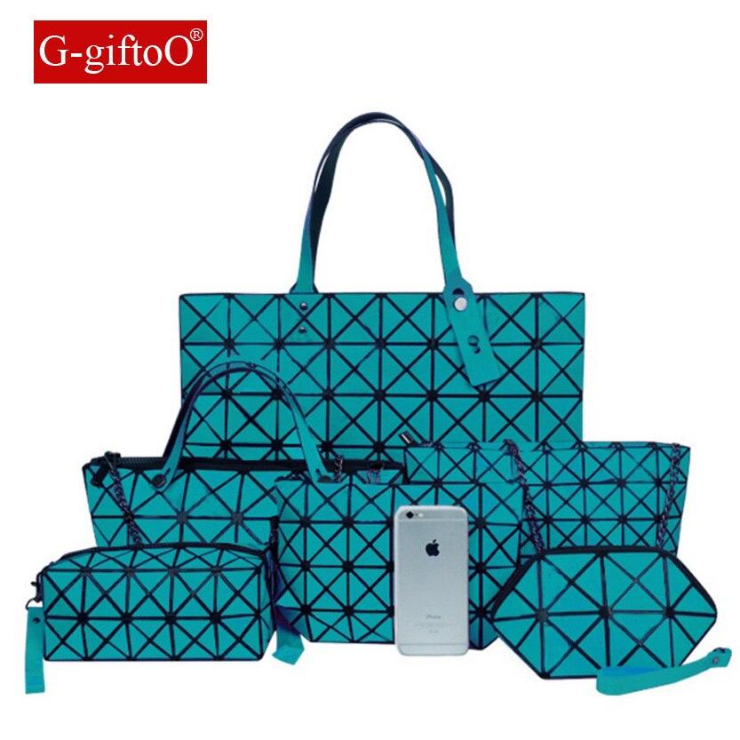 Nouvelle marque de luxe dame sac à main 6 pièces/ensemble Composite sacs ensemble femmes épaule sac à bandoulière femme sac à main pochette portefeuille