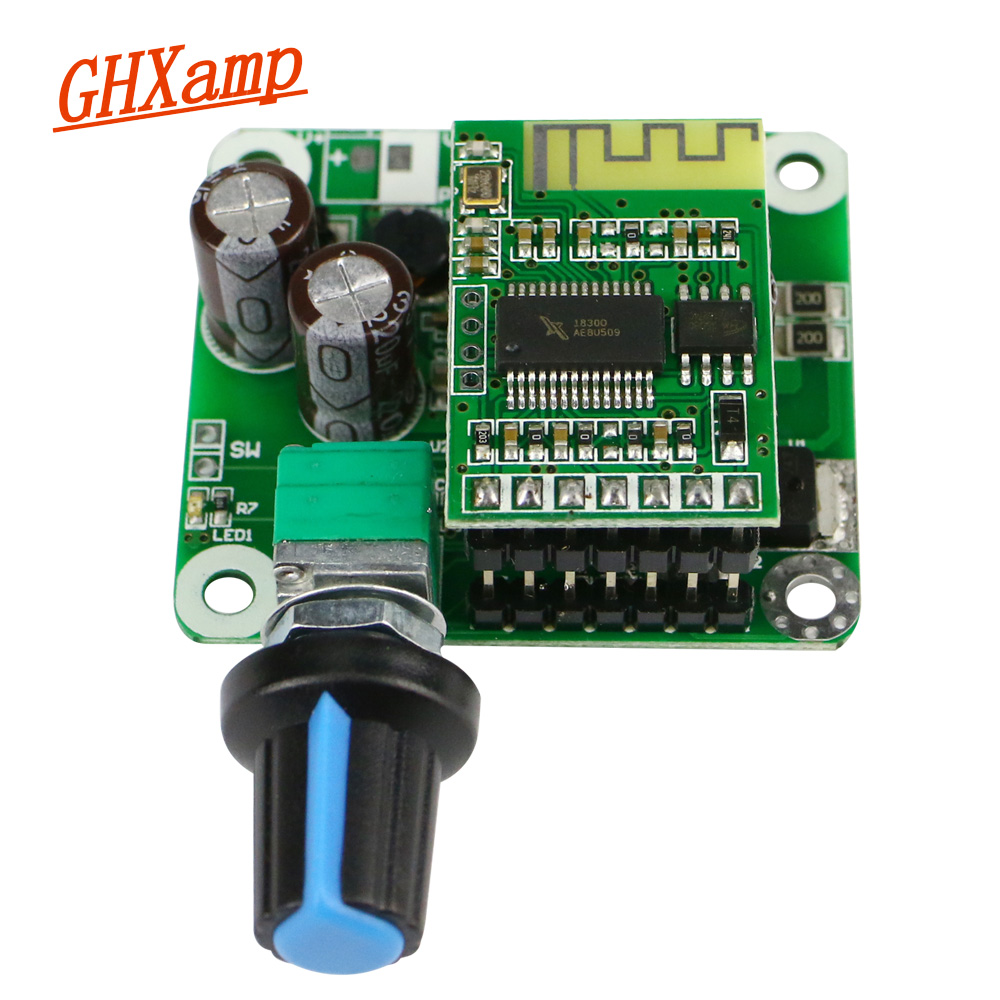 GHXAMP TPA3110 Bluetooth 4.2 Amplifier Board 15W*2 Class D Stereo Digital Power Amplifier Finished Board 1pc image