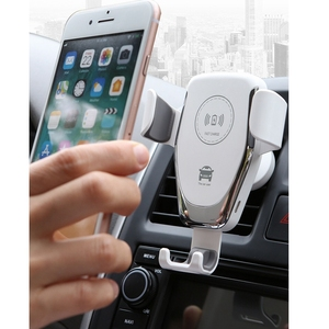 Image 2 - Sindvor Car Wireless Charger For iPhone XS Max X 8 10W Fast Wirless Charging Wireless Car Charger For Huawei Samsung S10 Xiaomi