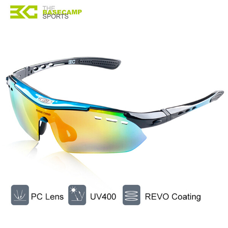 760d028ed89 Basecamp 5 Lens Polarized Cycling Glasses MTB 2017 Cycling Eyes Men Glasses  Goggles BC 102 Cycling Eyewear Sport Bike Sunglasses-in Cycling Eyewear  from ...