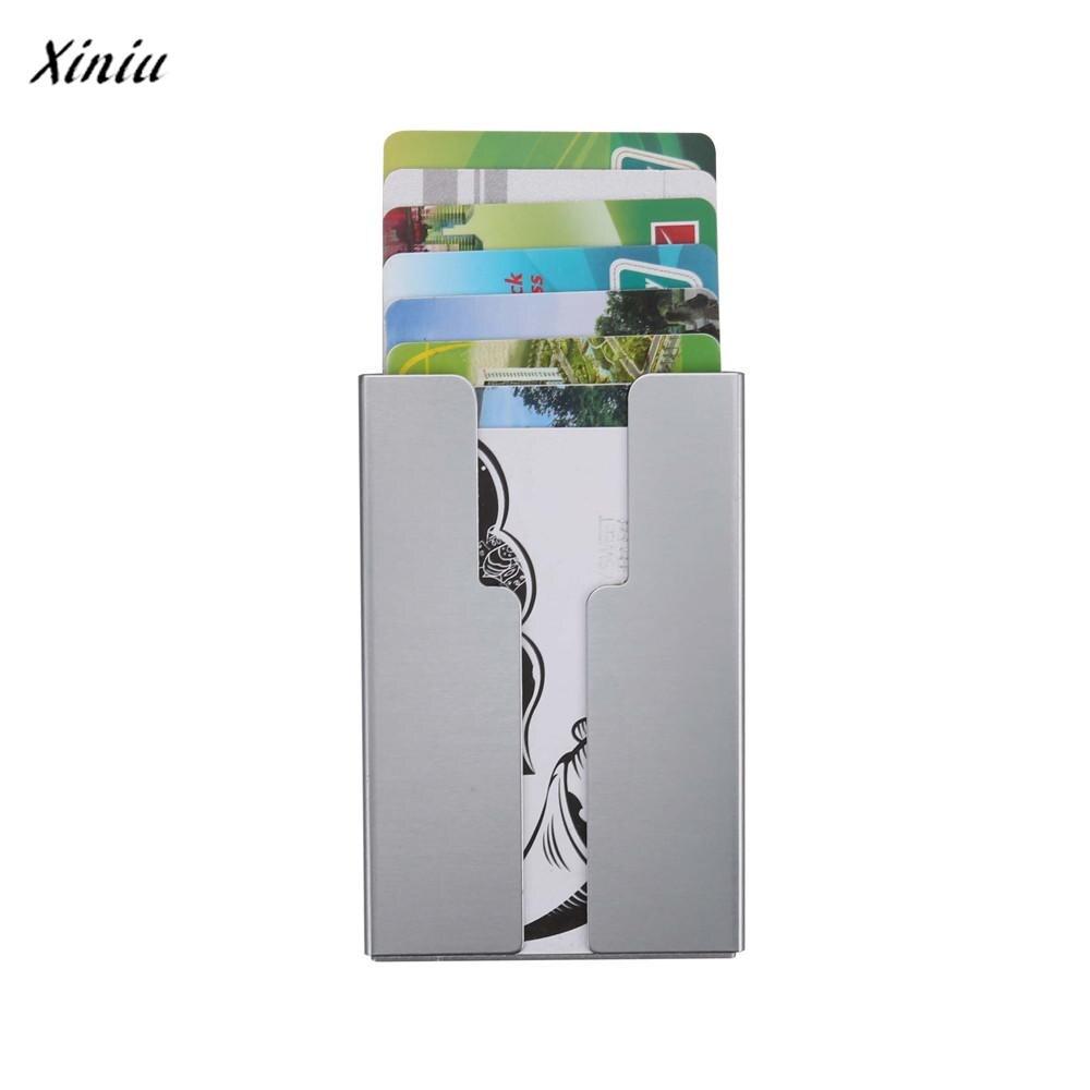 xiniu Men Metal Wallet card holder business card holder card case ...