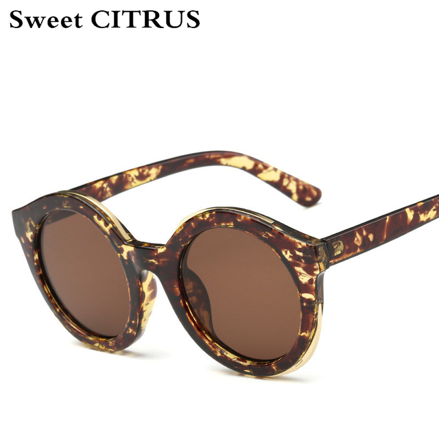 f13427c1c6e3 Round Vintage Sunglasses Women Brand Designer Retro Circle Sun glasses for  men lunette de soleil oculos de sol feminino shades