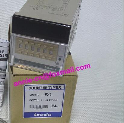 New and original FX6 AUTONICS Timer/counter,Counter design,counter display 100-240VAC  цены