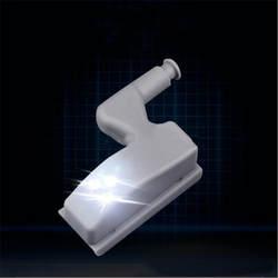 Светодиодный свет под кабинет Универсальный гардероб свет Сенсор светодиодный внутренняя петля лампа для шкаф гардероб Кухня ночные огни