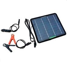 Горячая 5 Вт 18 В Портативный Панели солнечные для 12 В Батарея Зарядное устройство многофункциональный Солнечный Батарея Зарядное устройство автомобиля Зарядное устройство Бесплатная доставка