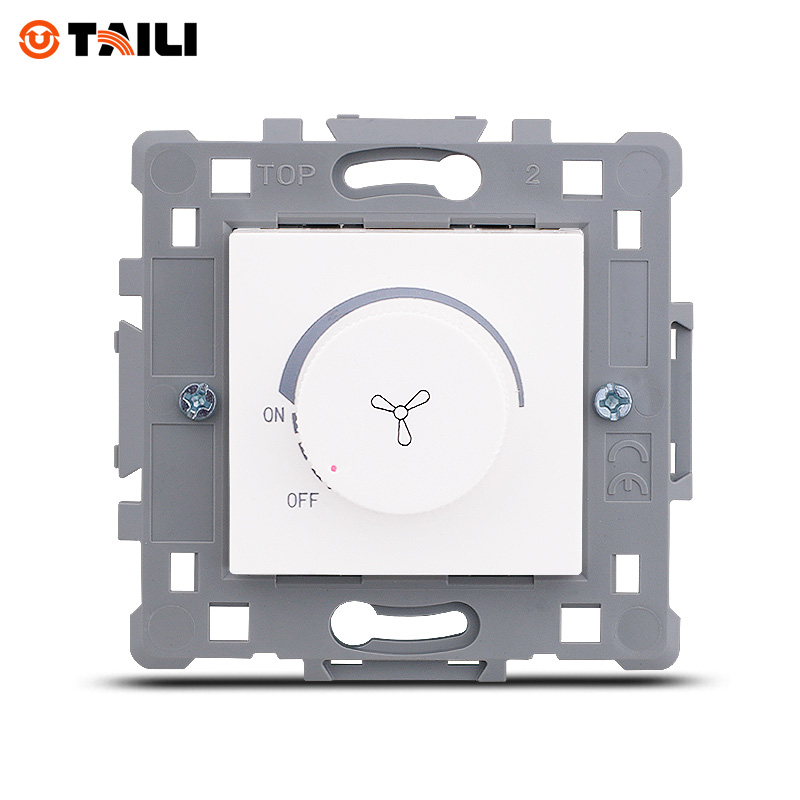 Wall Switch Fan Switch Fan Speed Controller Regulation Function Keys DIY AC 110~250V 10A Home Decoration Wall Switch TAILI multifunction sub dial orkina men vogue luxury quartz watch golden mesh metallic strap blue round dial hot sale classic gift