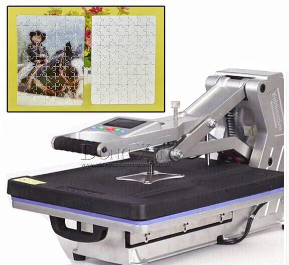 Machine de presse à chaud T-shirt avec tiroir pour image de transfert sans hydraulique pour t-shirts, tissus, tapis de souris, photos de roche, carreaux