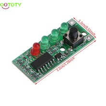 9-12.6V Battery Capacity Indicator 4 LEDs Display for 3S Lithium Battery 828 Promotion(China)