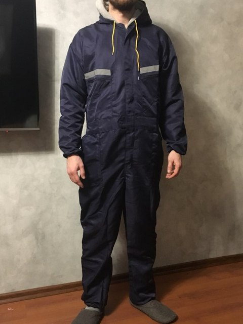 Plus size Male Reflective strip jumpsuit Men Work Wear hooded uniforms Fashion Labor protection Tooling Coveralls A60901 6